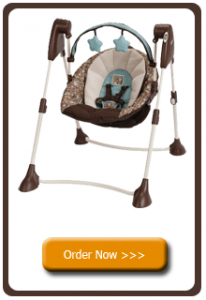 Buy graco swing by me 2 in 1 portable swing, Little Hoot here