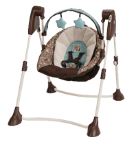 Buy Graco Swing By Me Portable 2 in 1 swing here